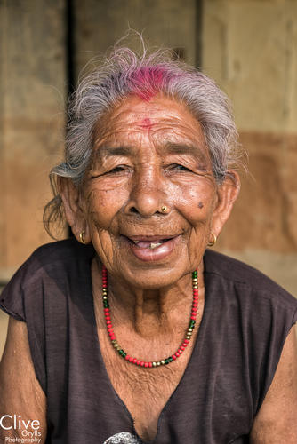 Tharu woman in the Madi region of Chitwan National Park