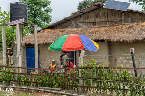 Tharu home stay in the Madi region of Chitwan National Park