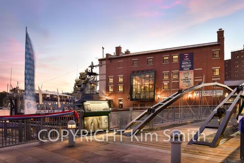 Canalside Liberty Hound + Naval Park Buffalo NY