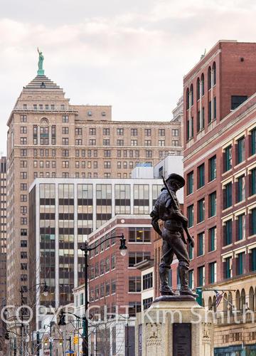 Buffalo NY Cityscape