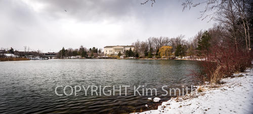 Delaware Park Winter