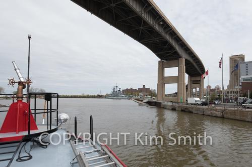 Buffalo River, Fireboat Buffalo NY