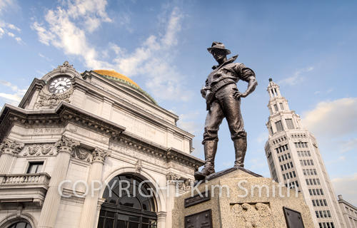 The Hiker, Buffalo Savings Bank, Electric Tower