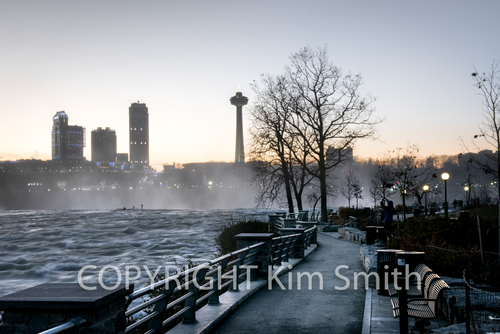 Niagara Falls Icy Winter