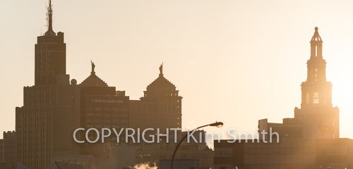 Downtown Buffalo Golden Hour