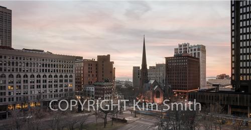 Downtown Buffalo Twilight