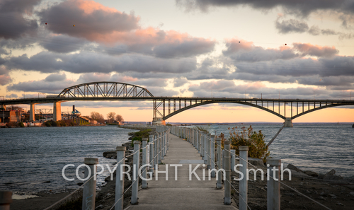 Peace Bridge, Trail, Buffalo NY