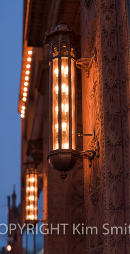 Guaranty Building, Prudential Building, Buffalo NY, Terra Cotta, light fixture