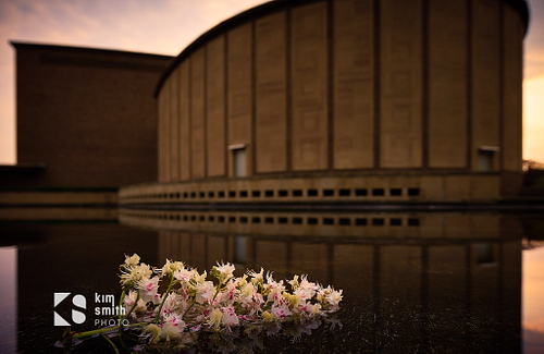 Kleinhans Music Hall + Pool, Spring