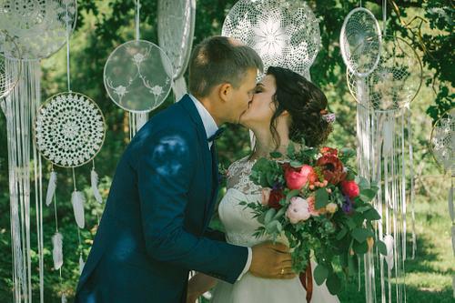 Laulību ceremonija vasarā brīvdabas kāzas