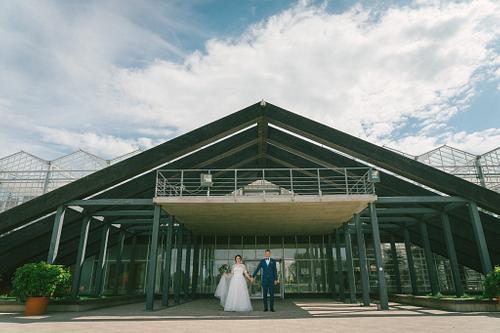 Kāzas Salaspils Botāniskā dārza Oranžērijā