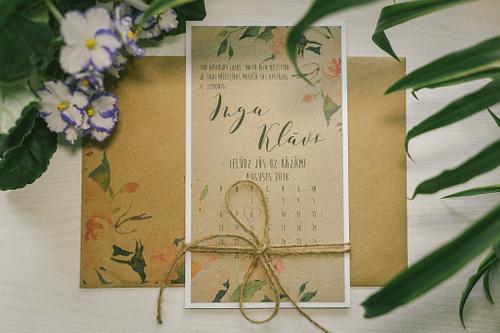 Kāzu ielūgumi, dekoratīvi ielūgumi kāzām