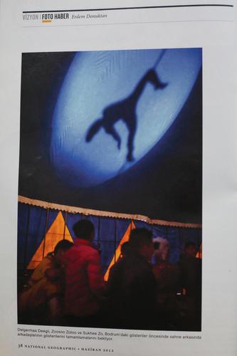 Safari Circus, June 2012 / National Geographic Turkey