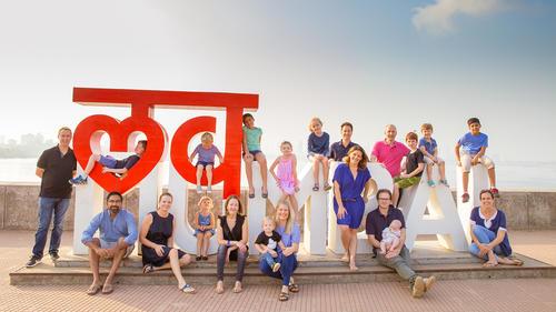 love mumbai sign at sea link bandra
