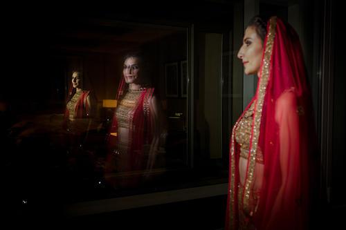 Bridal portrait jordan muslim bride destination wedding