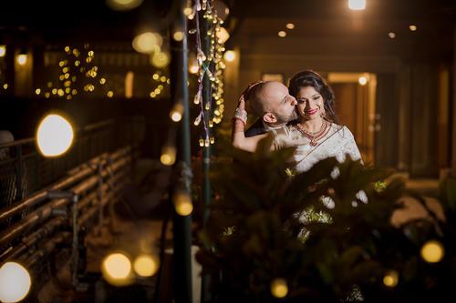 Canadian Jewish Gujarati destination wedding reception