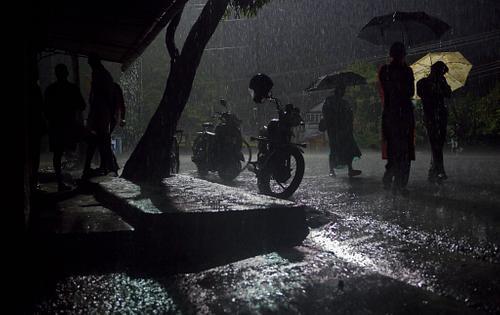 Rainy Streets of Kochin