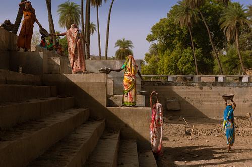 Women Building Canals