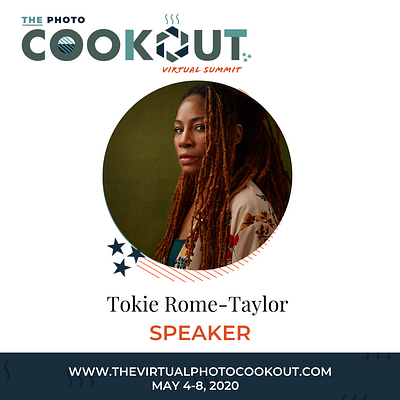 FINE ART PHOTOGRAPHY SPEAKER FOR THE PHOTO COOKOUT VIRTUAL SUMMIT, WITH TOMAYIA COLVIN