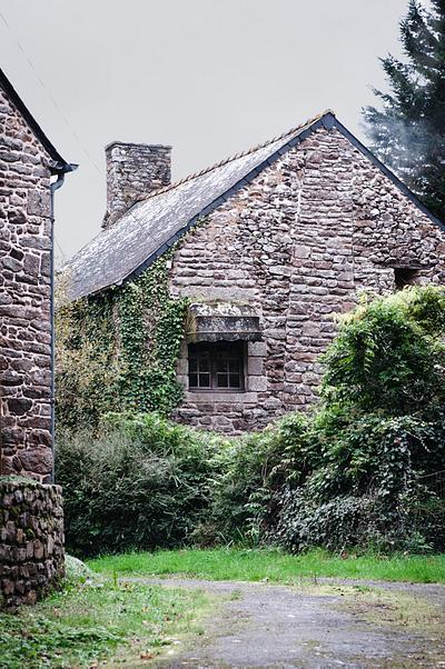 A Traditional house in bretagne