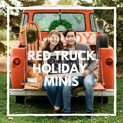 Red Truck Holiday Mini Sessions