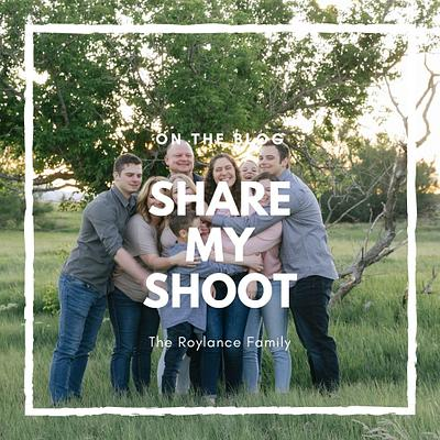 Share My Shoot:  The Roylance Family