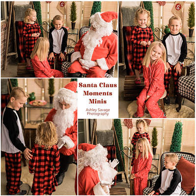 Santa Claus Moments Mini Sessions