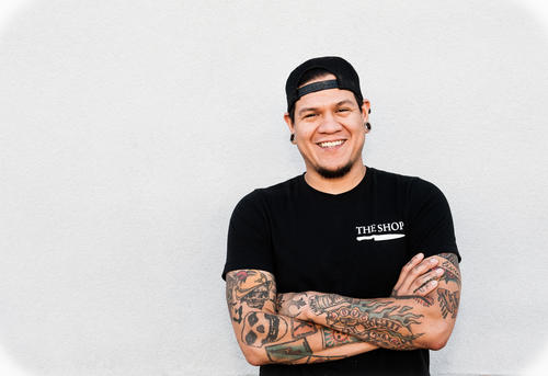 Chef Israel Rivera, The Shop