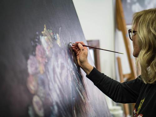 Pauline Zeij Contemporary Art - Personal Branding