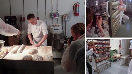 Sfeervol ende ambachtelijk beeld maken in een moderne bakkerij?