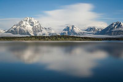 Mount Moran Reflections
