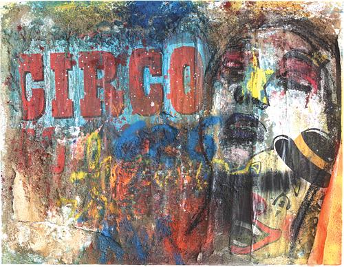 Circus _Técnica Mista S/Tela_70x90 cm