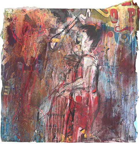 Circus III_Técnica Mista S/Tela_90x90 cm