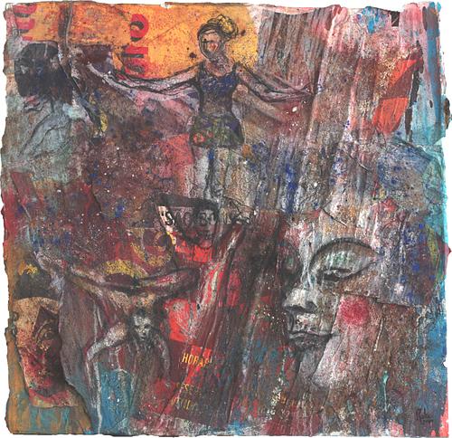 Circus IV_Técnica Mista S/Tela_90x90 cm