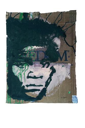 Basquiat_Técnica Mista S/Cartão_52x67cm