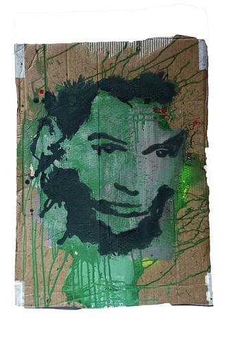 Egon Schiele_Técnica Mista S/Cartão_53x73cm
