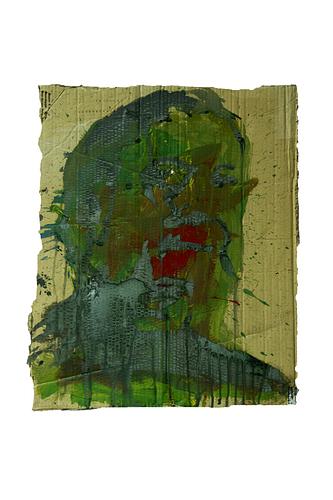 Manolo Valdés_Técnica mista s/cartão_48x60cm