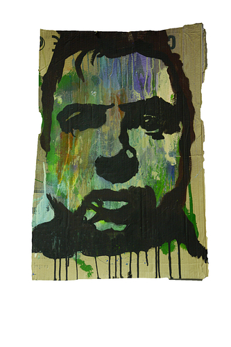 Francis Bacon_Técnica Mista S/Cartão_46x68cm