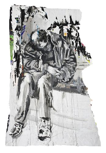 Sem título_Técnica Mista S/Cartazes_116x175 cm
