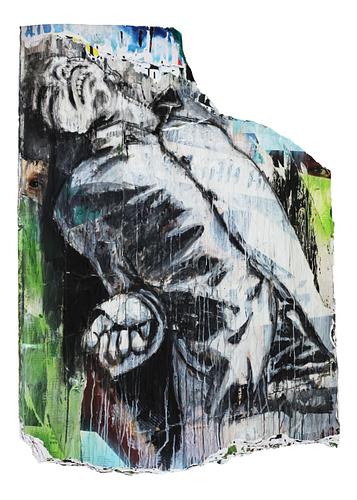 Sem título_Técnica Mista S/Cartazes_119x165 cm