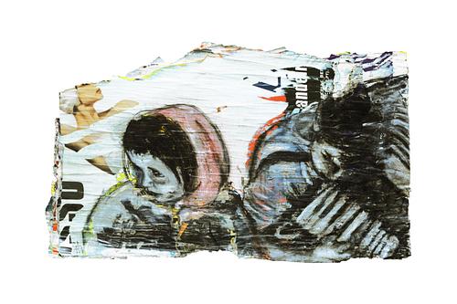 Sem título_Técnica Mista S/Cartazes_130x80 cm