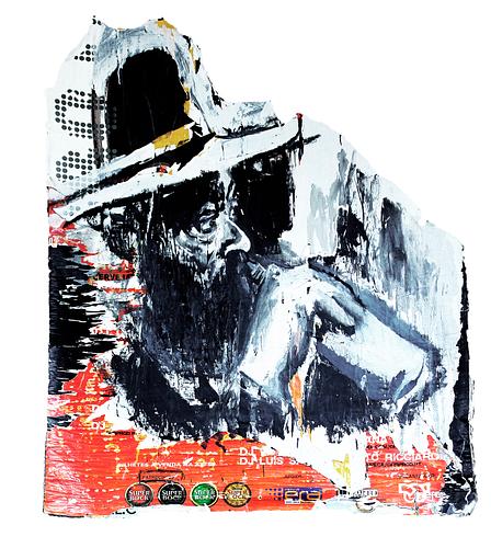 Sem título_Técnica Mista S/Cartazes_120x120 cm