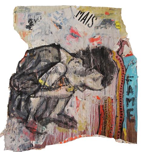 Fame_Técnica Mista S/Cartazes_120x125 cm