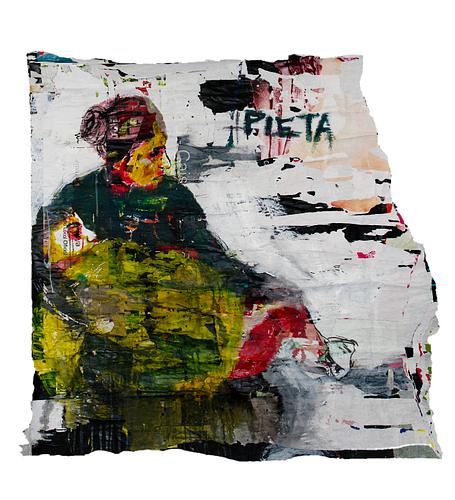 Pietá_Técnica Mista S/Cartazes_120x120 cm