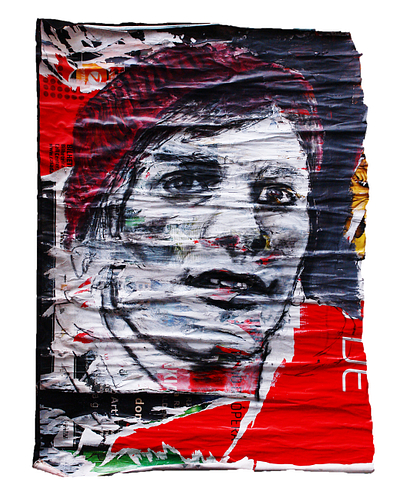 Sem título_ Técnica Mista S/Cartazes_83x117 cm