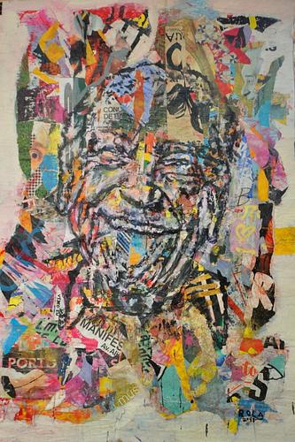 Ensaio sobre a alegria_Técnica Mista S/Cartazes_120x174  cm