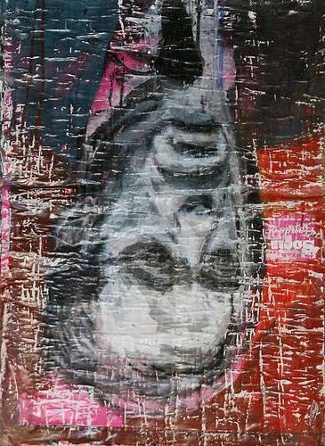 Protagonista I_Técnica Mista S/Cartazes_50x70cm