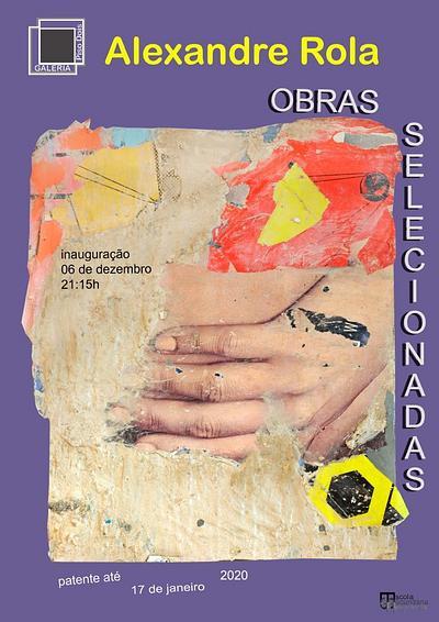 """Exposição individual """"Obras selecionadas"""" na Galeria Piso2, Felgueiras"""