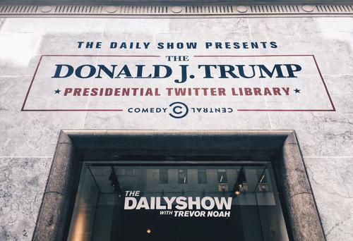 THE DAILY SHOW - THE DONALD J. TRUMP PRESIDENTIAL TWITTER LIBRARY