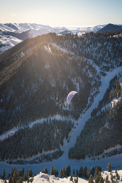 Soaring Sun Valley - My First Time Paragliding